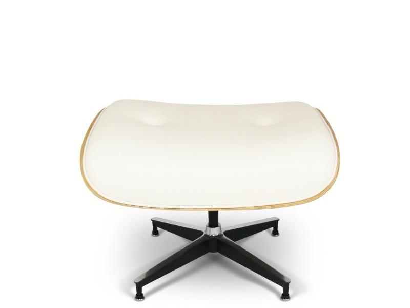 Image du fauteuil design Ottoman Lounge Eames (seul) - Noyer clair
