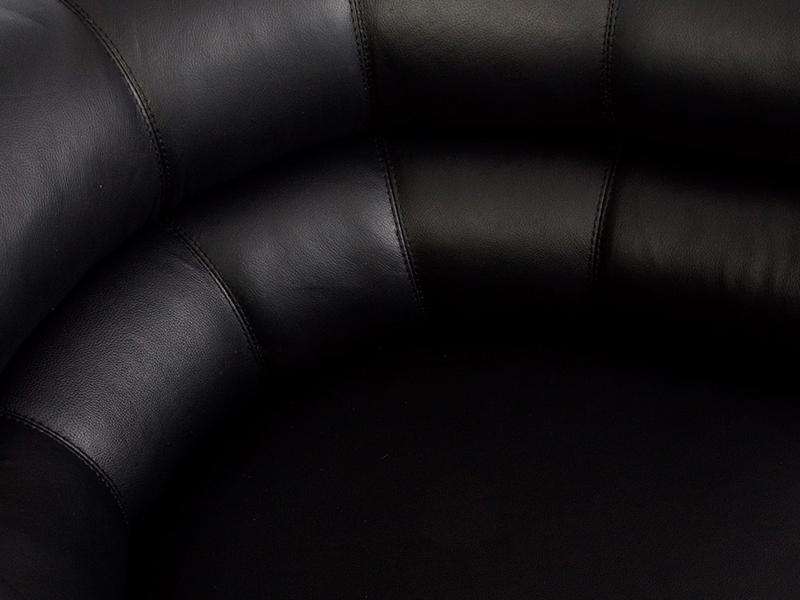 Image du fauteuil design Poltrona Bibendum - Nero