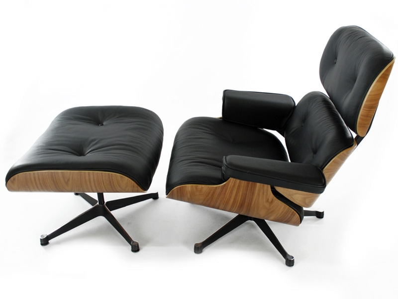 Poltrona eames lounge noce for Poltrone famose design