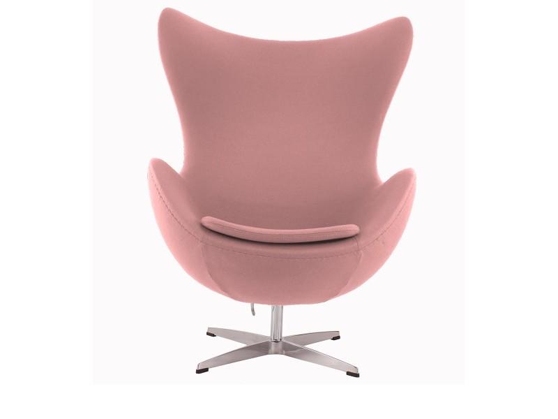 Image du fauteuil design Poltrona Egg AJ - Rosa chiaro