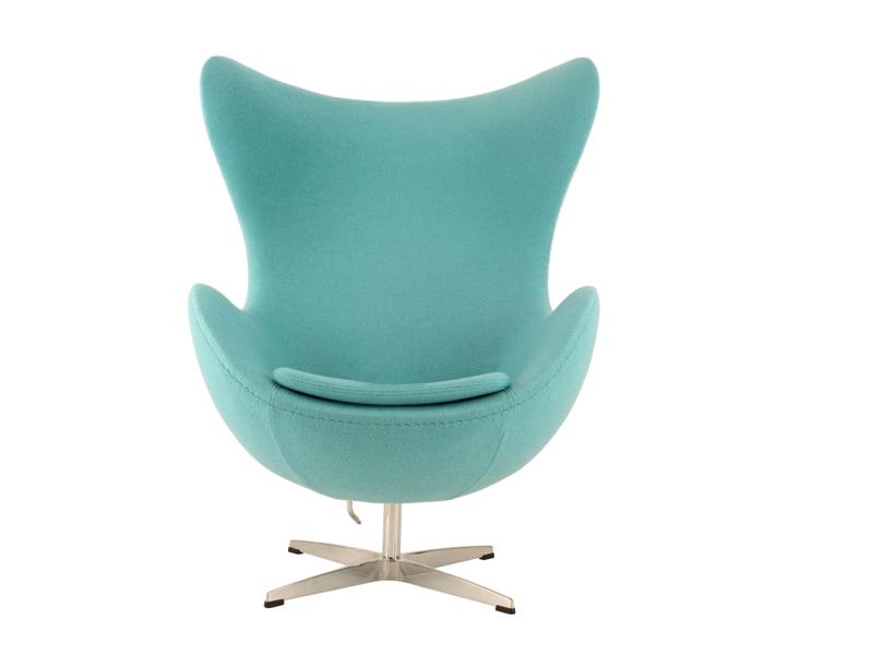 Image du fauteuil design Poltrona Egg AJ - Turchese