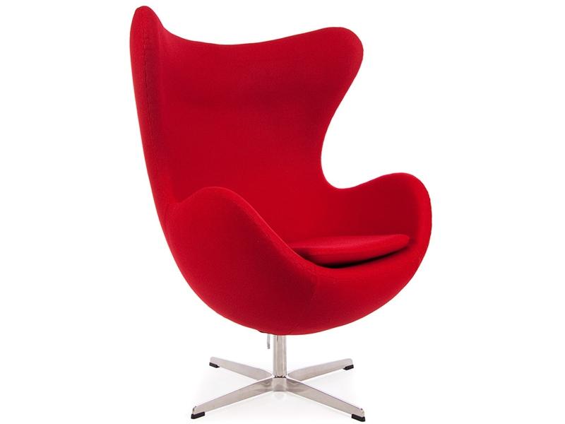 Image du fauteuil design Poltrona Egg Arne COSYSEN - Rosso