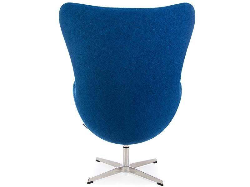 Image du fauteuil design Poltrona Egg Arne Jacobsen - Blu