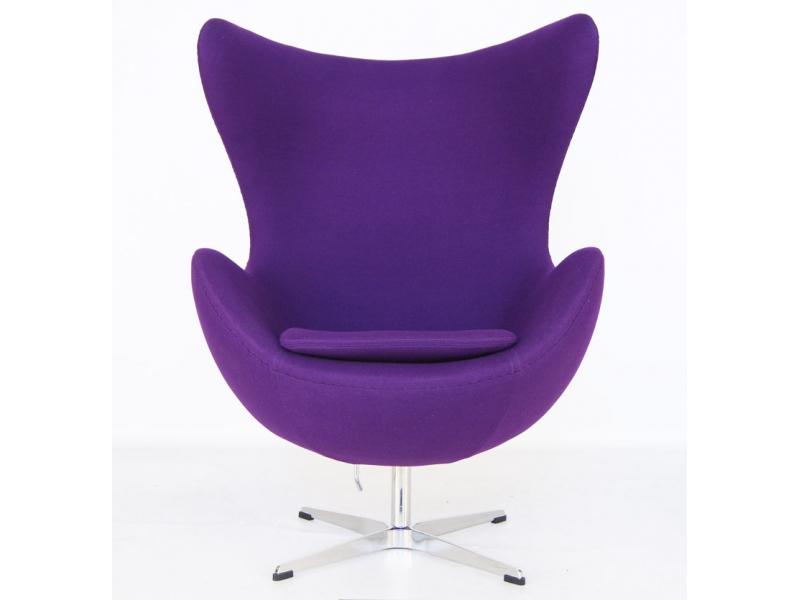 Image du fauteuil design Poltrona Egg Arne Jacobsen - Malva