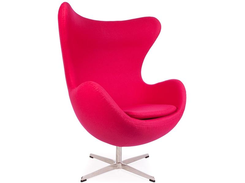 poltrona egg arne jacobsen rosa. Black Bedroom Furniture Sets. Home Design Ideas