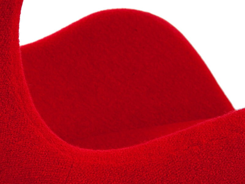 Image du fauteuil design Poltrona Egg Arne Jacobsen - Rosso