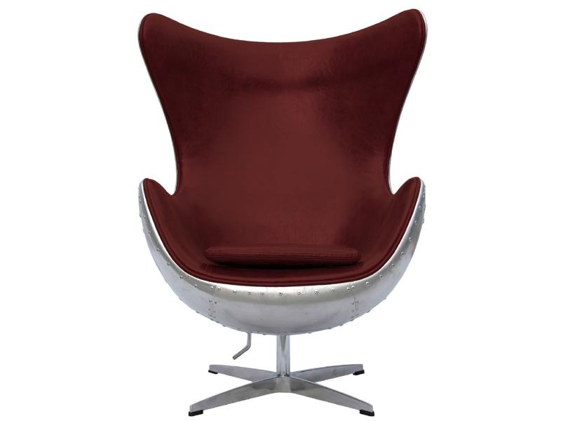 Image du fauteuil design Poltrona Egg Spitfire AJ - Rosso