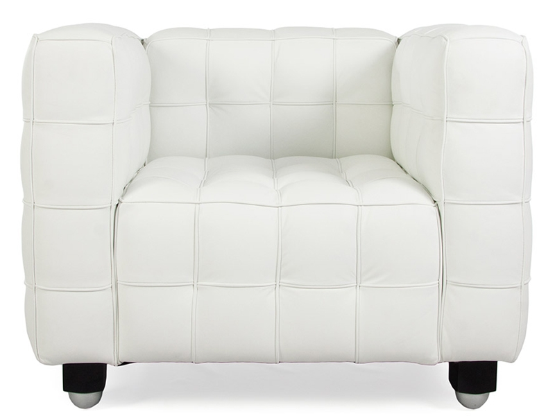 Poltrona kubus bianco - Poltrone famose design ...