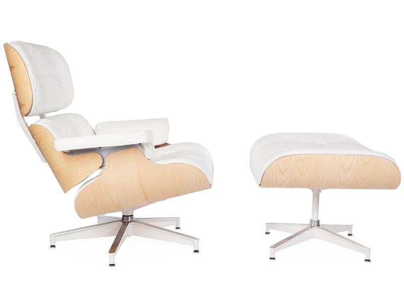 Image du fauteuil design Poltrona Lounge Eames - Noce chiaro