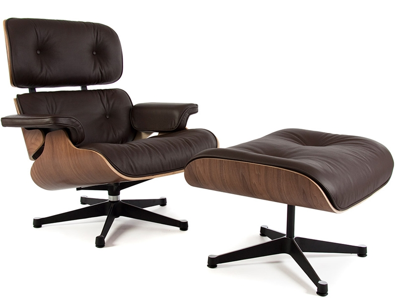 Poltrona lounge eames noce for Poltrone famose design