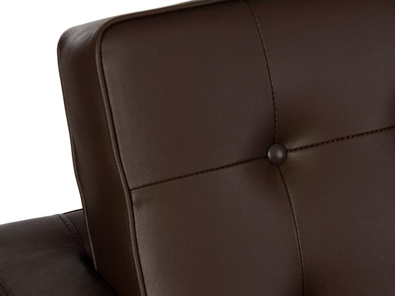 Image du fauteuil design Poltrona Lounge Knoll- Marrone