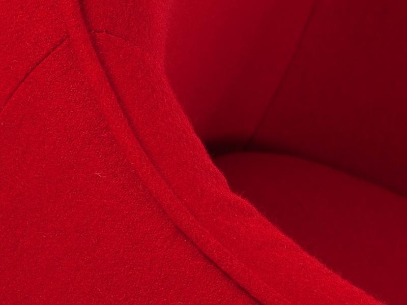 Image du fauteuil design Poltrona Lusk - Rosso