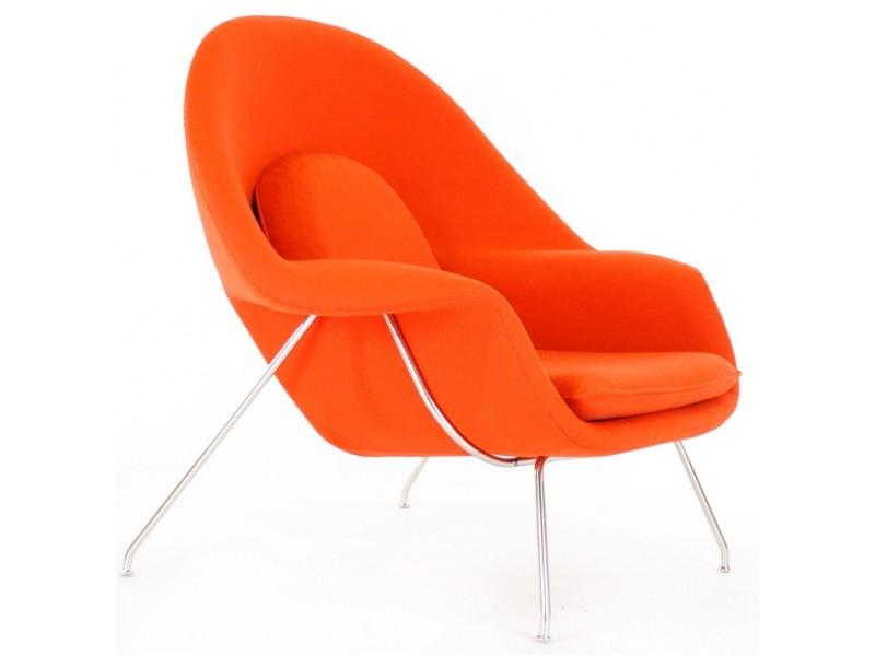 Image du fauteuil design Poltrona Womb - Arancione scuro