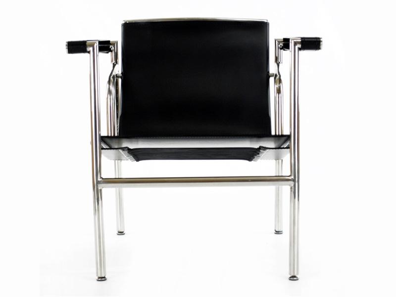 Image du fauteuil design Sedia LC1 Le Corbusier - Nero