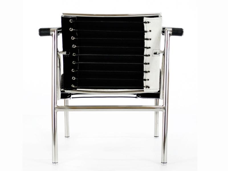 Image du fauteuil design Sedia LC1 Le Corbusier - Pony nero
