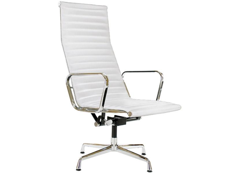 Image du fauteuil design Sedia Lounge EA124 - Bianca