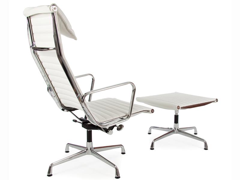 Sedia lounge ea124 bianco - Poltrone famose design ...