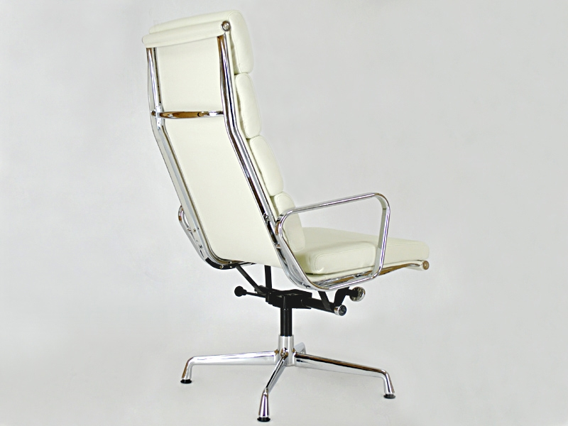Image du fauteuil design Sedia Lounge EA222 - Bianca