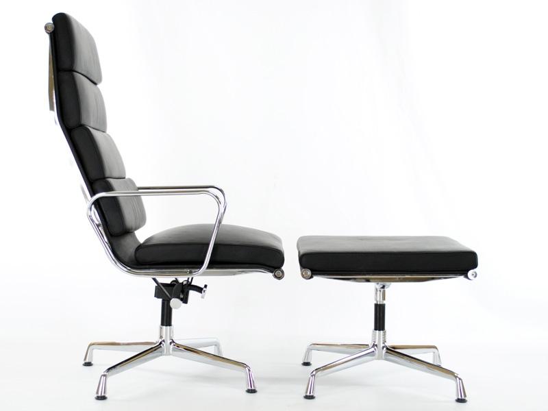 Image du fauteuil design Sedia Lounge EA222 - Nero