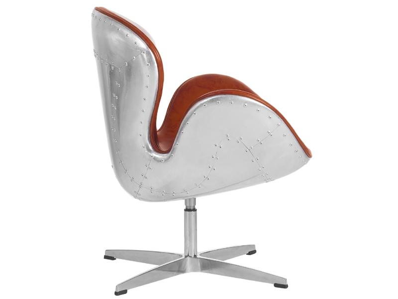 Image du fauteuil design Sedia Swan Spitfire AJ - Avana