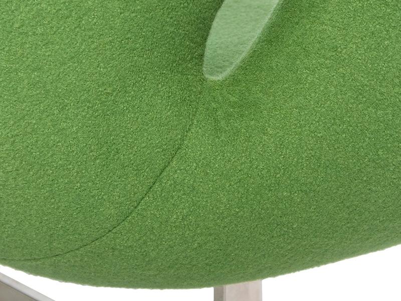Image du fauteuil design Swan 2 places Arne Jacobsen - Vert