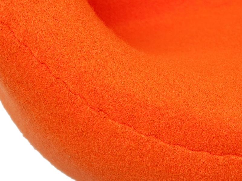 Image du fauteuil design Swan 2 posti Arne Jacobsen - Arancione
