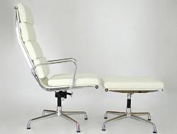 Image du fauteuil design Chaise Lounge EA222 - Blanc