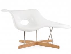 Image du fauteuil design Eames La Chaise - Blanc