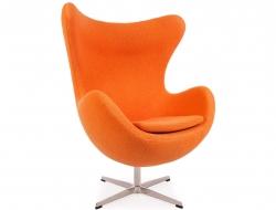 Image du fauteuil design Fauteuil Egg Arne Jacobsen - Orange