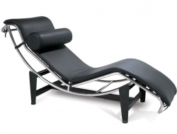 Image du fauteuil design LC4 Chaise longue - Noir