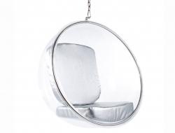 Image du fauteuil design Poltrona Bubble Eero Aarnio - Argento