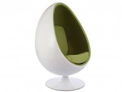 Image du fauteuil design Poltrona Egg ovale - Verde