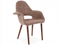 Image du fauteuil design Poltrona Organic - Nocciola