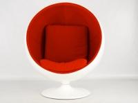 Image du fauteuil design Chaise Ball - Rouge