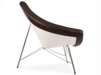 Image du fauteuil design Chaise Coconut Nelson - Marron