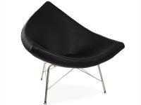 Image du fauteuil design Chaise Coconut Nelson - Noir
