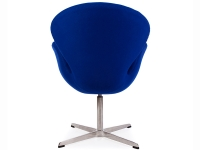 Image du fauteuil design Chaise Swan Arne COSYSEN - Bleu
