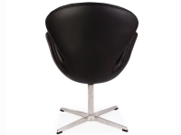 Image du fauteuil design Chaise Swan Arne COSYSEN - Noir