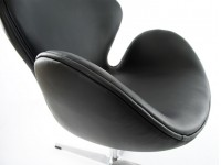 Image du fauteuil design Chaise Swan Arne Jacobsen - Noir