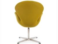 Image du fauteuil design Chaise Swan Arne Jacobsen - Vert olive