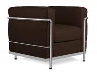 Image du fauteuil design COSY2 Poltrona-Marrone Scuro