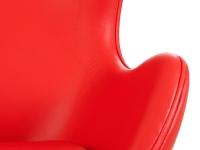 Image du fauteuil design Egg Arne COSYSEN - Rosso
