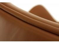 Image du fauteuil design Fauteuil Egg Arne COSYSEN - Marron chocolat