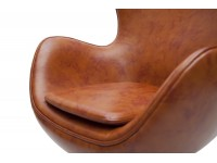 Image du fauteuil design Fauteuil Egg Arne Jacobsen - Marron  Vintage