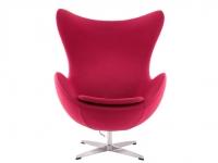 Image du fauteuil design Fauteuil Egg Arne Jacobsen - Rose