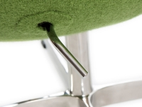 Image du fauteuil design Fauteuil Egg Arne Jacobsen - Vert
