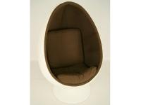 Image du fauteuil design Fauteuil Egg Ovale Aarnio - Marron