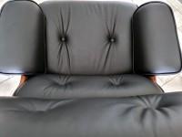 Image du fauteuil design Fauteuil Lounge COSY - Bois de rose