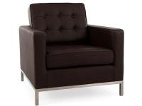 Image du fauteuil design Fauteuil Lounge Knoll - Marron