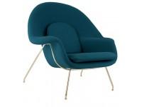 Image du fauteuil design Fauteuil Womb - Bleu royal